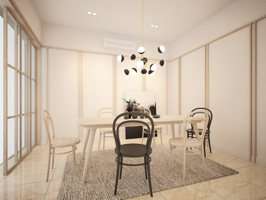 9 Madge Dining area
